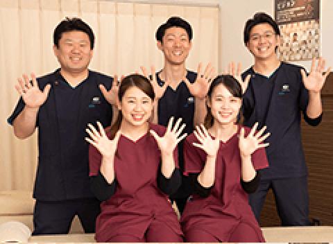 若い施術スタッフが多く元気があり、明るい治療院です!